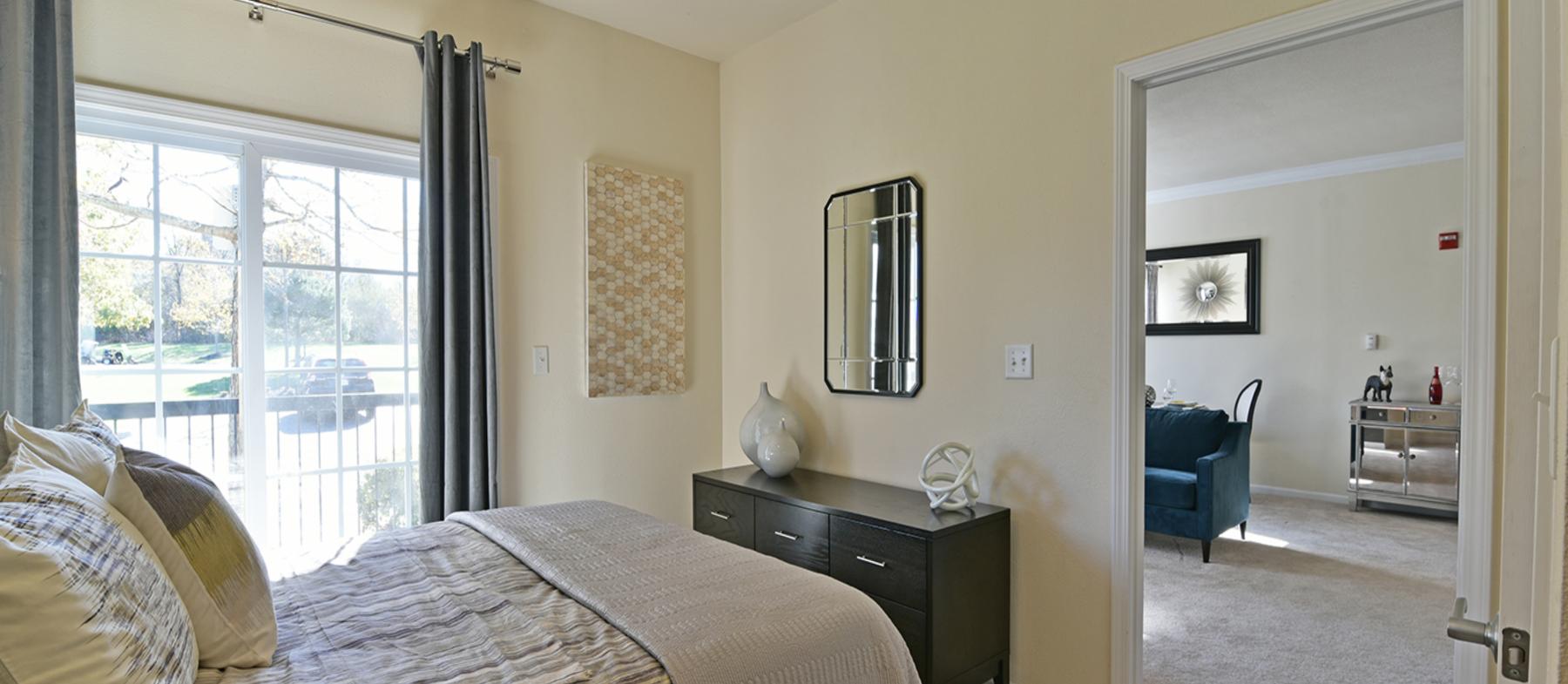 12 - Apartment Bedroom & Living Room copy 2