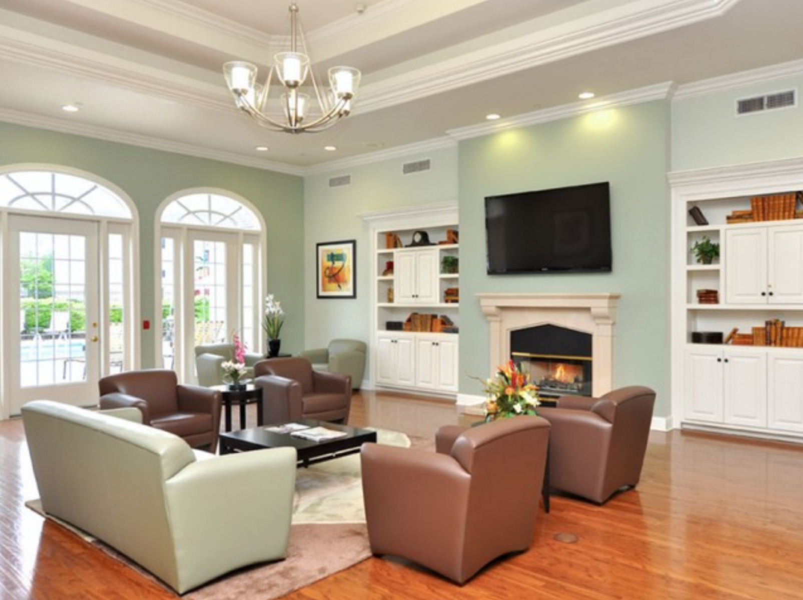 1 - Clubhouse Sitting Room