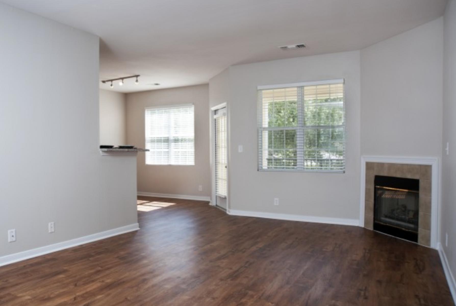 7 - Apt Living Room Area
