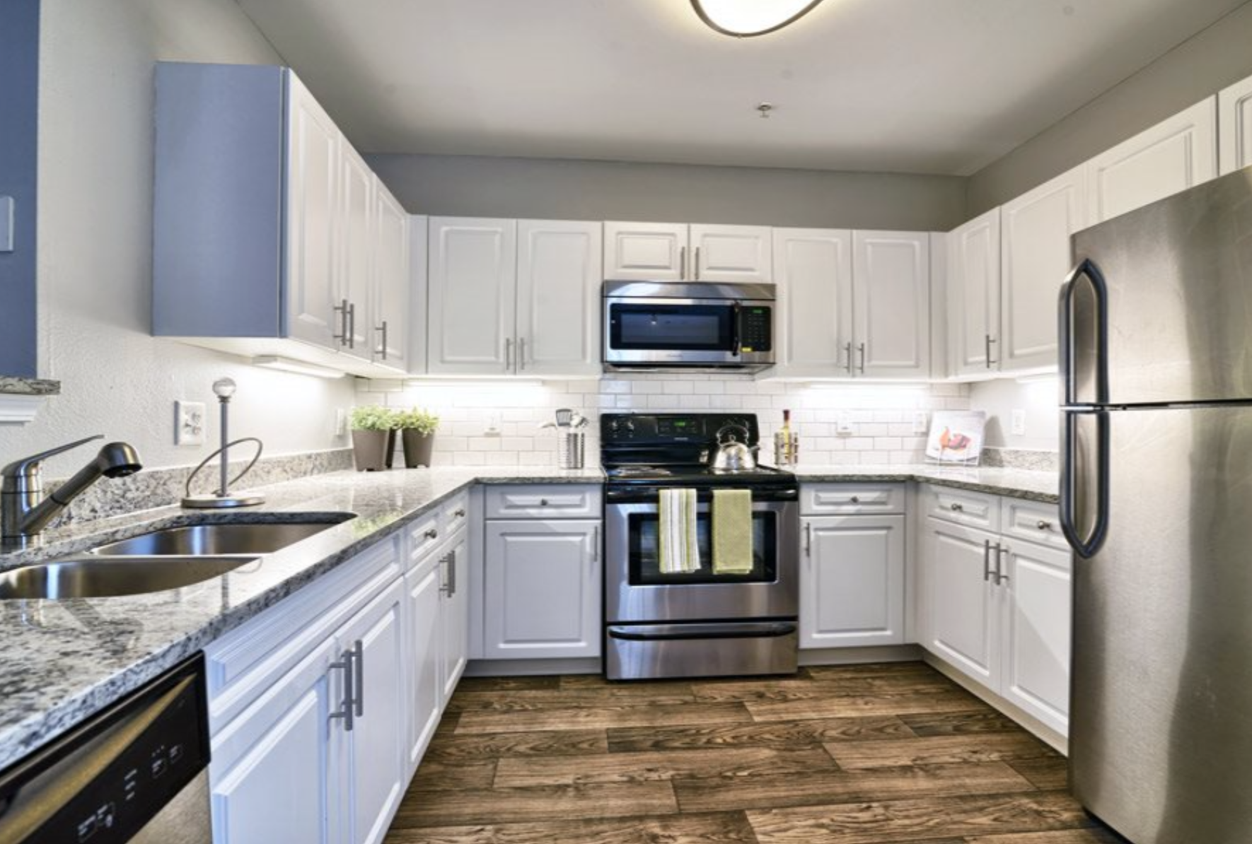 19 - Unit Kitchen Remodeled 2