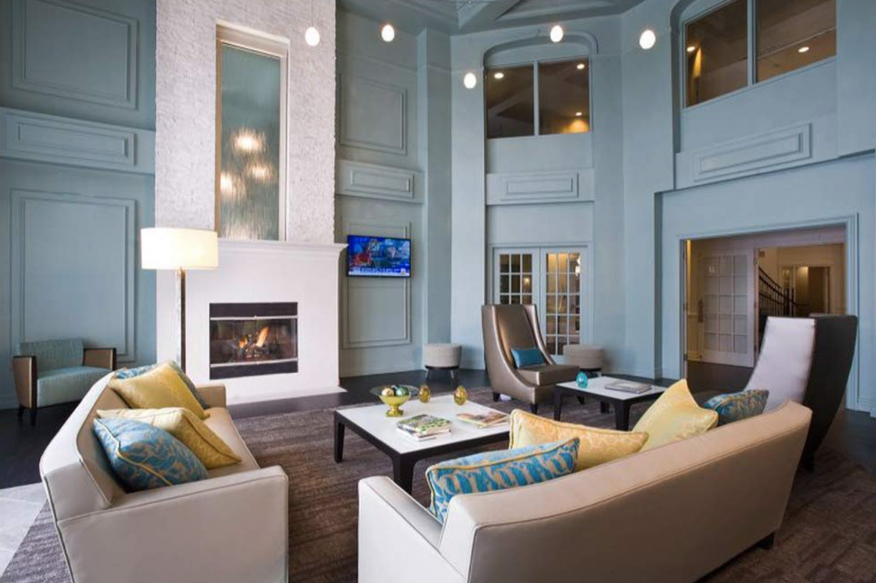 3 - Clubhouse Sitting Room