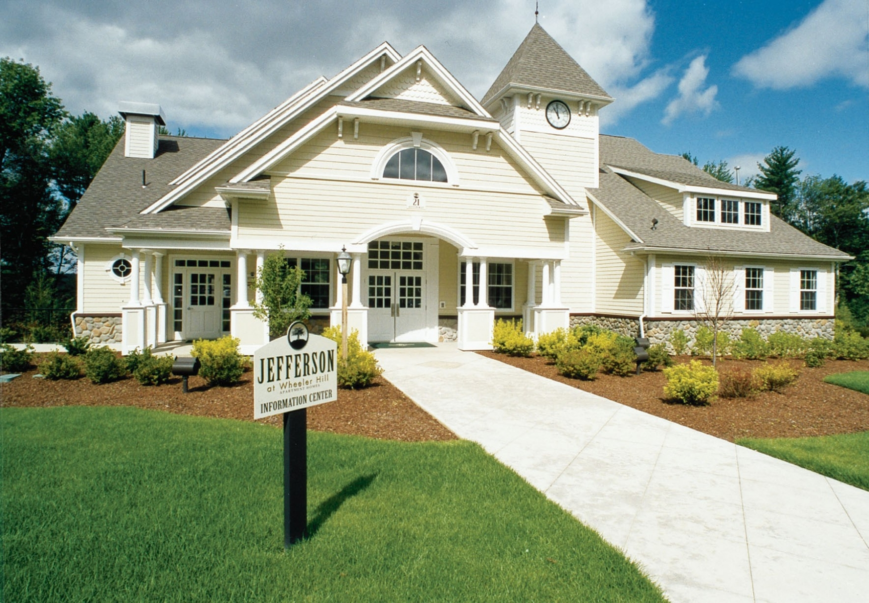 1 - Wheeler Hill - Club House Exterior